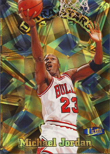 Michael Jordan 97-98 Ultra Stars Gold