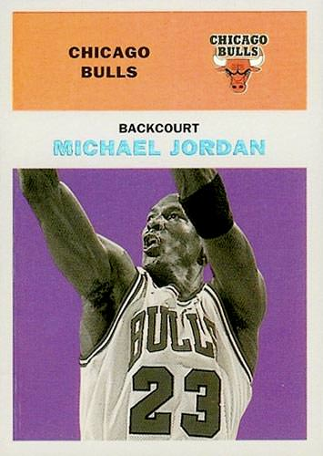 98-99 Michael Jordan Fleer Tradition Classic '61