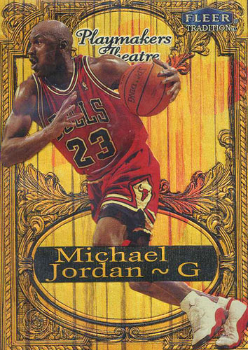 98-99 Michael Jordan Playmaker's Theatre