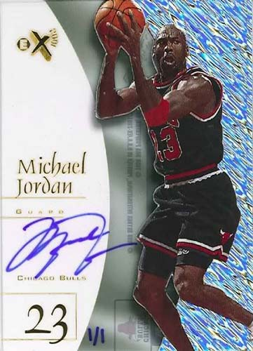 98 Michael Jordan EX2001 Buy Back Autograph
