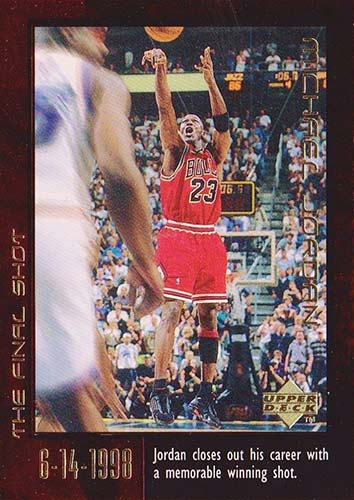 99 Michael Jordan Upper Deck Final Shot