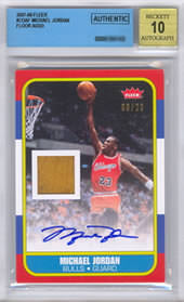 Michael Jordan BGS Auto only authentic
